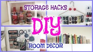Diy Room Decor Storage Hacks - Howtobyjordan