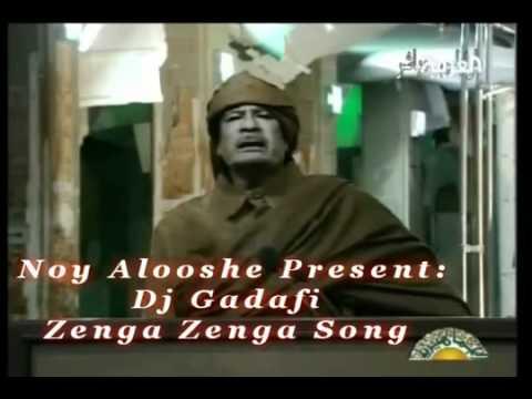 شاهد أغنية زنقة زنقة بصوت القذافيflv