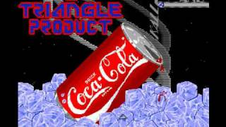 Amiga demo - Triangle - CocaCola by The Big A (1988)