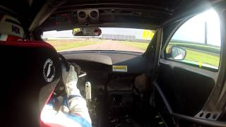 Jason Plato huge slide at Rockingham | BTCC 2013