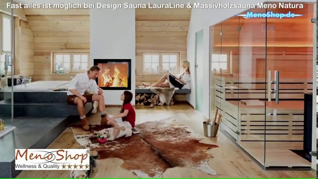 Saunabau Nrw Sauna Lauraline Oder Menonatura Youtube