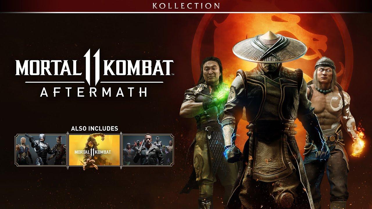 Mortal Kombat 11 Aftermath Kollection What Version To Buy