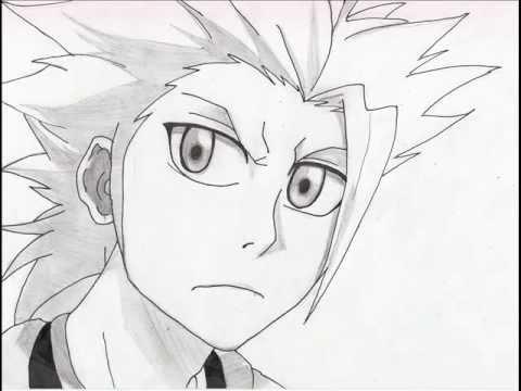 dessin de toshiro hitsugaya et de kisuke urahara dans bleach - YouTube