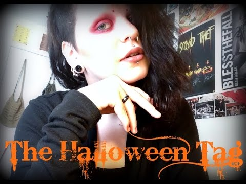 The Halloween Tag! | Astrid Aesthetic