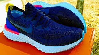 Nike Epic React Flyknit Ultimate Performance Test Half Marathon Test and  Review