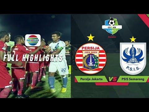 PERSIJA JAKARTA (1) Vs PSIS SEMARANG (0) - Full Highlight | Go-Jek Liga 1 Bersama Bukalapak