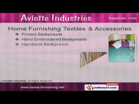 Home Furnishing Textiles by Aviette Industries, Jaipur