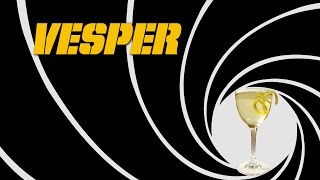 The Vesper - The James Bond Original Cocktail Inspired By The Dry Martini