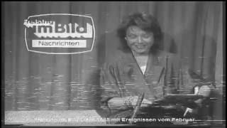 Freising im Bild  - TV Sendung März 1985  Moderation Ulrike Fesseler u. Fred Fuggenthaler