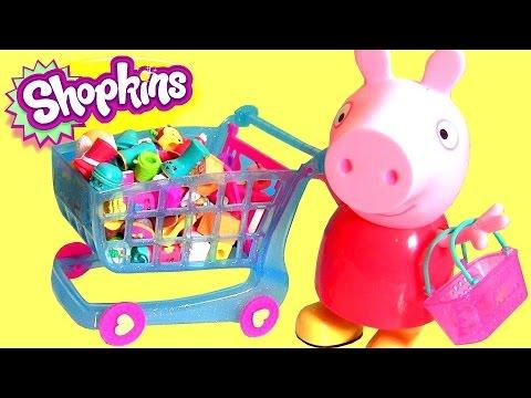 shopkins shopping cart season 3 push 39 n play new 2015 with. Black Bedroom Furniture Sets. Home Design Ideas