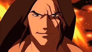 Young Justice - Zatana & Artemis vs Harm