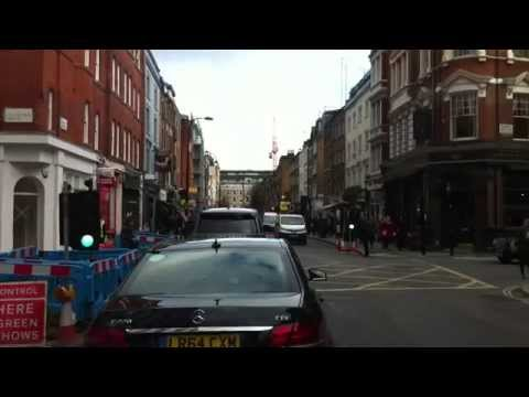 London Streets (489.) - Belgrave Square - Mayfair - Russel Square