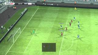 PES 2013 Gameplay - Portugal vs Italy