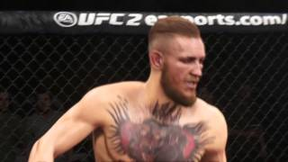 UFC 2 - McGregor Vs Cruz 30 second Knockout!