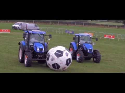 Tractor Football At The National Ploughing Championships
