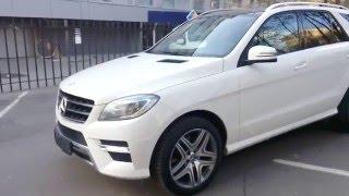 Купить Mercedes-Benz M-класса 2012 года (W166) AMG белый бензин 350 306 л.с. - Москва