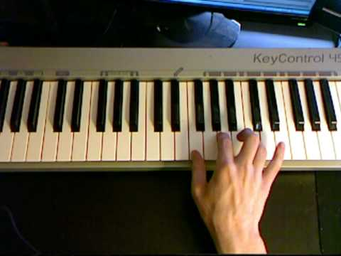 How to write a chord progression piano