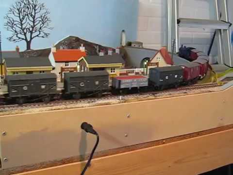 Dapol Meat Wagon Kits running on St Oval