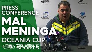NRL Press Conference: Mal Meninga - Test Match Footy | NRL on Nine