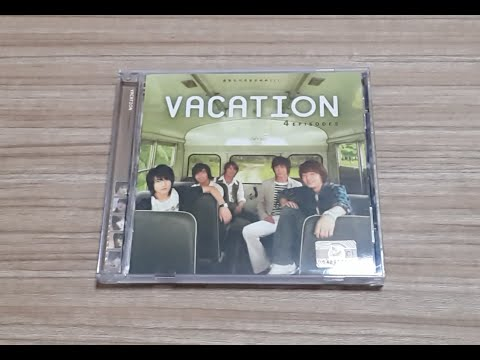 [Unboxing]TVXQ - Theater Drama: Vacation OST