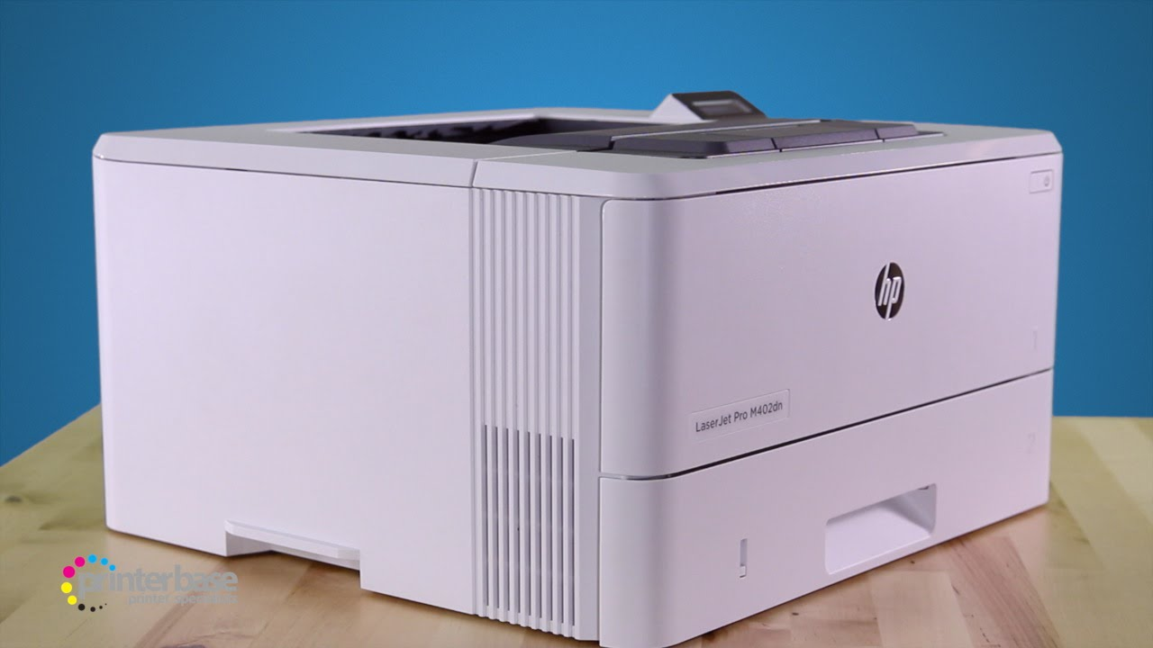 HP LaserJet Pro M402DN Mono Laser Printer Review | printerbase co uk