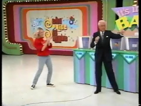 The Price is Right:  December 9, 1997 First Win on It's in the Bag!