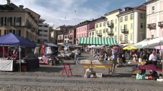 Locarno aan het  Lago Maggiore (funicoli funicola)