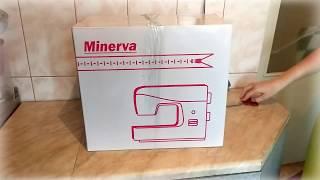 Распаковка швейная машинка Minerva Next141D из rozetka.com.ua
