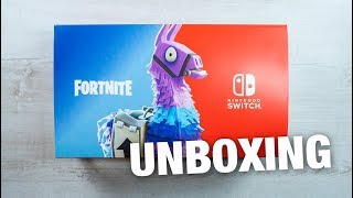 Nintendo Switch Fortnite Bundle - Console Unboxing! Double Helix Skin