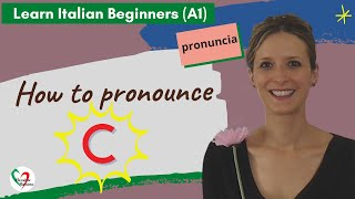 Learn Italian: how to pronounce the letter