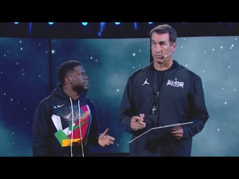 Kevin Hart, Rob Riggle, Jamie Foxx, Queen Latifah, Ludacris, & Adam Devine 2018 All-Star Performance