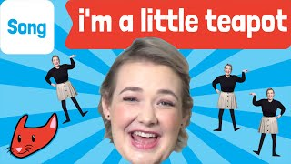 I'm a Little Teapot | Kids Song | Move With Maryssa | Made by Red Cat Reading