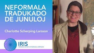 Neformala tradukado de junuloj – Charlotte Scherping Larsson – IRIS