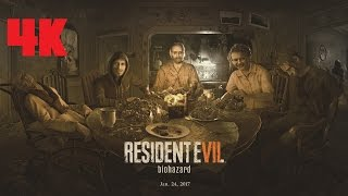Resident Evil 7 PC Gameplay 4K
