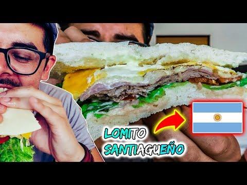 ¡Probando los Mejores LOMITOS de ARGENTINA! (en SANTIAGO DEL ESTERO)