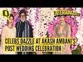 Amitabh, Kriti Sanon and Karan Johar Dazzle at Akash-Shloka Post-Wedding Celebration