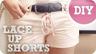 DIY Shorts (Laces on your Shorts!) Thumbnail