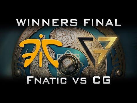 Fnatic vs CG Clutch Gamers - SEA slot at TI7 The International 2017 Highlights Dota 2