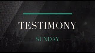 Testimony of Thanks