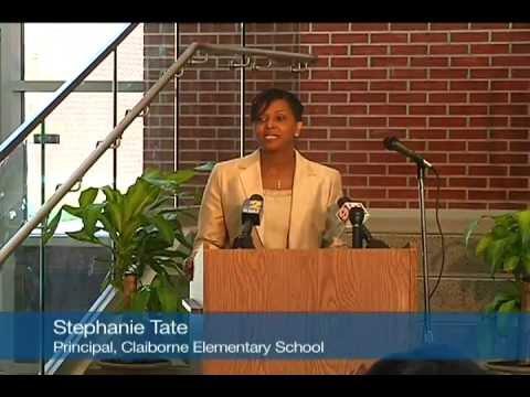 Claiborne Elementary School Ribbon-Cutting Ceremony