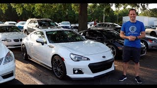 Is the 2015 Subaru BRZ Series Blue a sports car to CONSIDER?