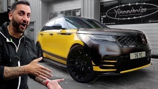 Car Wrap Challenge on my Range Rover Velar!