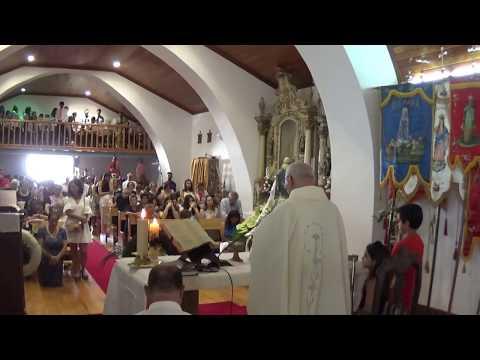 Peredo dos Castelhanos, 15 Agosto 2018. Missa Solene.