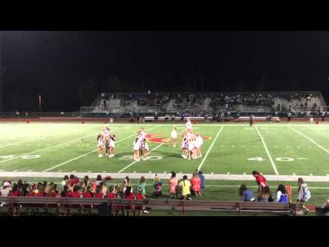 Cathedral Catholic High School Varsity Cheer 2015-2016