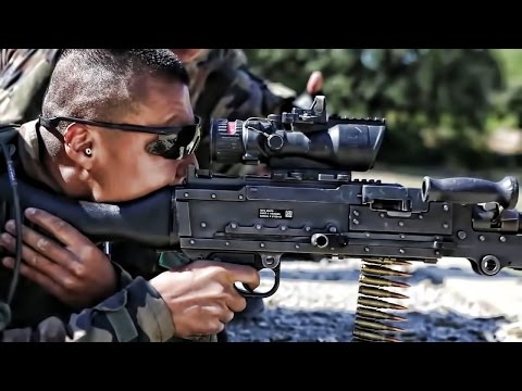 U.S. Marines & French Foreign Legion • Small Arms Training