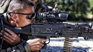 U.S. Marines & French Foreign Legion - Small Arms Training