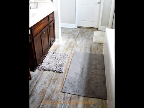 Paint A Subfloor To Look Like Aged Wood