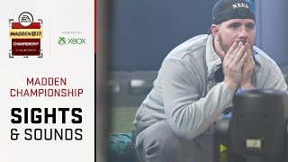 Madden 17 Championship - Sights + Sounds thumbnail