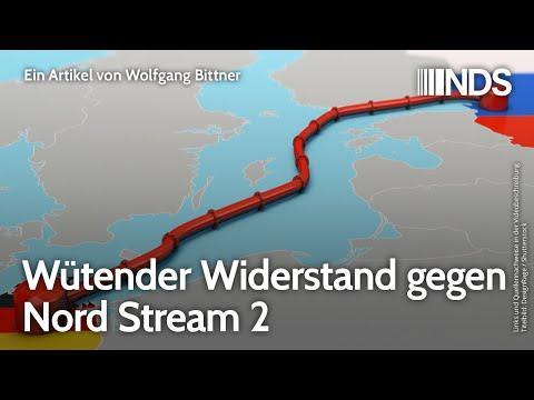 Wütender Widerstand gegen Nord Stream 2