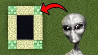 How To Make a Portal to the Alien Dimension in Minecraft (Pocket Edition)